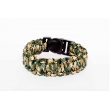 QuikProf Camping/ Hiking Paracord Bracelet- Wrist Band