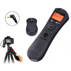 JINTU Wireless FSK 2.4GHz LCD Timer Time lapse intervalometer Remote Shutter Release Cable Cord for Canon 100D/1100D/1200D/300D/350D/400D/450D/500D/550D/600D/650D/700D/750D/760D/60D/70D Pentex, Samsung